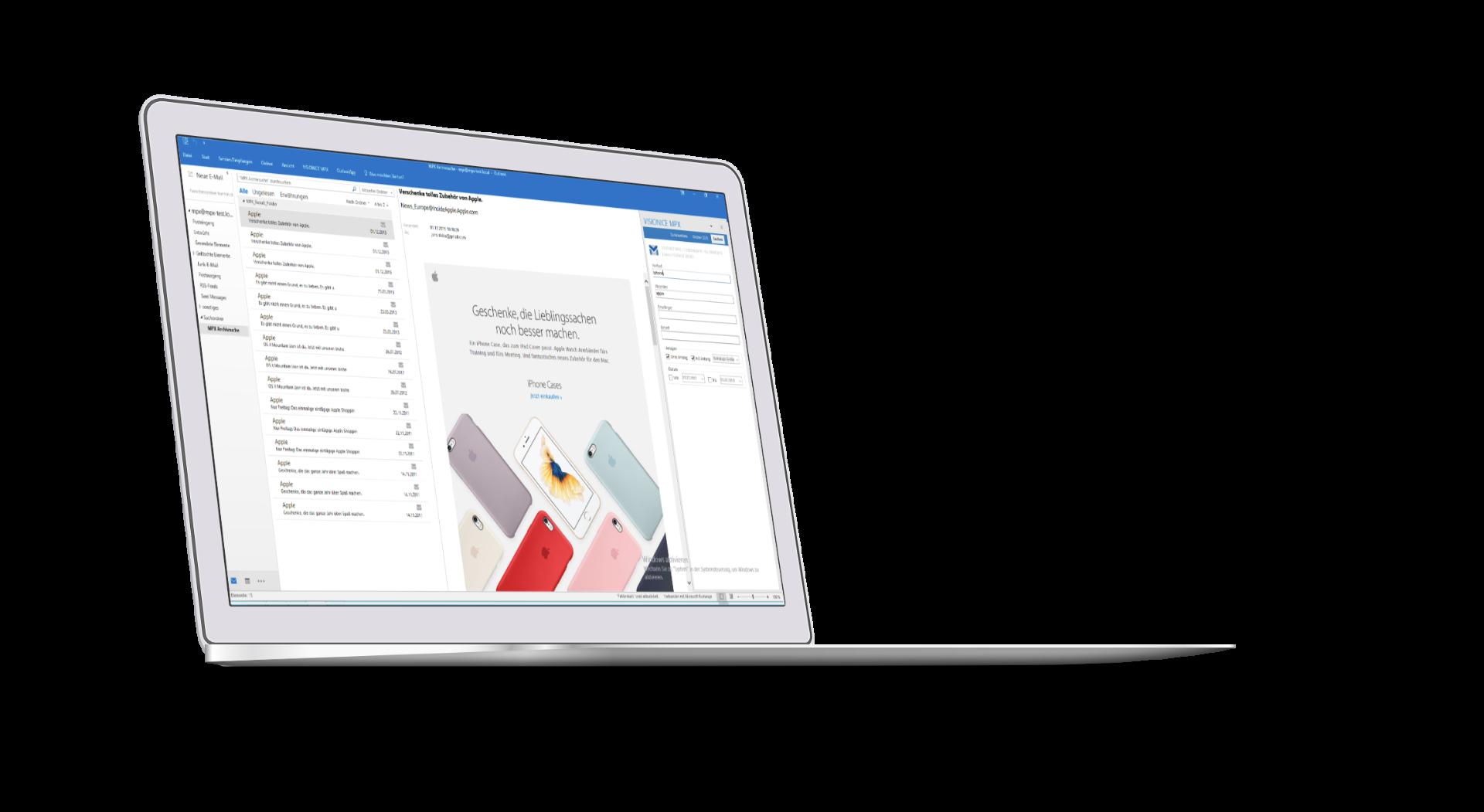 Mailarchiv für Microsoft Exchange & Tobit David